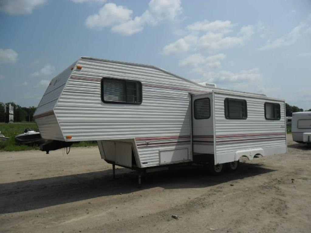 Tow Hitch Bike Rack >> 1993 Jayco Eagle, Detroit lakes, MN US, Stock Number 5379 ...